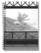 Trees On The Hill Spiral Notebook