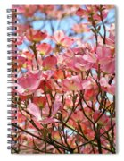 Trees Pink Spring Dogwood Flowers Baslee Troutman Spiral Notebook