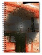 Trees Turning Grey Spiral Notebook