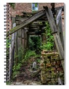 Trellis Spiral Notebook