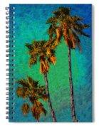 Tres Palmeras Spiral Notebook