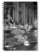 Trevi Fountain Night 2 Spiral Notebook
