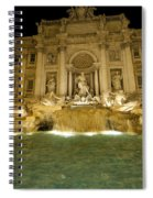 Trevi Fountain. Rome Spiral Notebook
