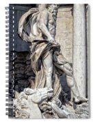 Trevi Fountain - Rome Spiral Notebook