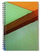 Tri Color Minimal  Spiral Notebook