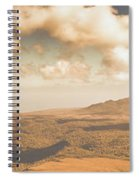 Trial Harbour Landscape Panorama Spiral Notebook