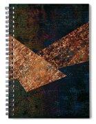 Triangles Spiral Notebook