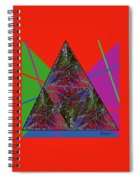 Triangular Thoughts Spiral Notebook