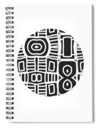 Tribal Ball- Art By Linda Woods Spiral Notebook
