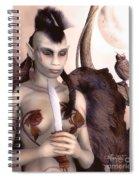Tribal Elf Spiral Notebook