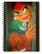 Tribal Lady Spiral Notebook