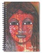 Tribal Woman Spiral Notebook