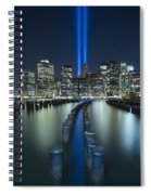 Tribute In Light Spiral Notebook