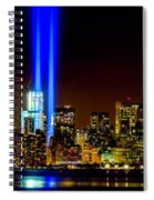 Tribute In Light From Bayonne Spiral Notebook