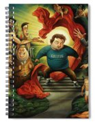 Tribute To Animal House Spiral Notebook