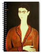 Tribute To Frida Spiral Notebook