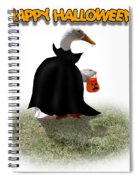 Trick Or Treat For Count Duckula Spiral Notebook