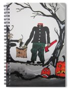 Trick Or Treat. Spiral Notebook