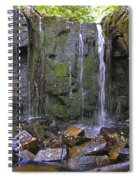Trickle Wall Spiral Notebook