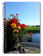 Trim Florals Spiral Notebook