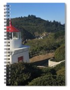 Trinidad Head Memorial Lighthouse, California Lighthouse Spiral Notebook