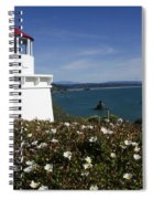 Trinidad Lighthouse California Spiral Notebook
