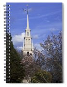Trinity Church In Spring Spiral Notebook