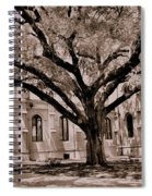 Trinity Episcopal Cathedral Court Yard Spiral Notebook