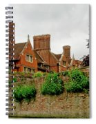 Trinity Hall From The Backs. Cambridge. Spiral Notebook