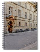 Trinity Hall In The Evening. Cambridge. Spiral Notebook