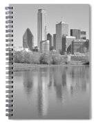 Trinity River Panorama Spiral Notebook
