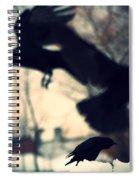 Trio In Motion Spiral Notebook
