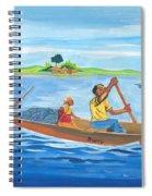 Trip To Lake Kivu In Congo Spiral Notebook