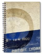 Trip To Paris Spiral Notebook