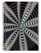Triple Abstract Spiral Notebook
