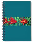 Triple Tease Tulips Spiral Notebook