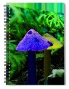 Trippy Shroom Spiral Notebook
