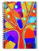 Trippy Tree Spiral Notebook