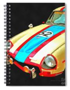 Triumph Gt Pop Art Spiral Notebook