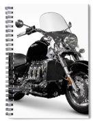 Triumph Rocket IIi Motorcycle Spiral Notebook