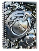 Triumph Tiger 800 Xc Engine Spiral Notebook