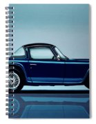 Triumph Tr5 1968 Painting Spiral Notebook