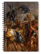 Triumphal Entry Of Henry Iv In Paris Spiral Notebook