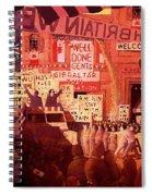 Triumphal Welcome Spiral Notebook