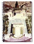 Trocadero Palais De Chaillot 1955 Spiral Notebook