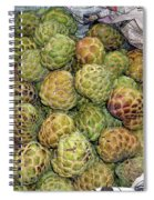 Troical Green Fruit 1 Spiral Notebook
