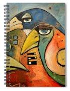 Trois Oiseaux Spiral Notebook