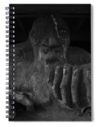 Troll Under Bridge Spiral Notebook