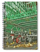 Trolley Convoy Spiral Notebook