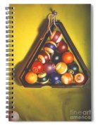 Billiard Balls Tromp'ole Spiral Notebook
